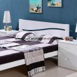 固体木のベッドの現代ベッド(M-X2822)