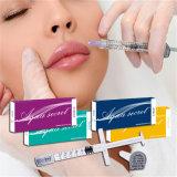 Injection de seringue remplie par Derm d'agrandissement de corps