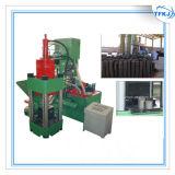 Le métal de machines de rebut ébrèche la presse à briqueter (la qualité)