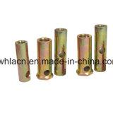 콘크리트 부품 담합 육 연결 견과 담합 삽입