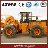Chinesische gegliederte Rad-Ladevorrichtung 22 Tonnen-Gabelstapler-Vorderseite-Ladevorrichtung