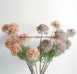 Fleurs artificielles de Hydrangea du Canada de bouquet bleu artificiel de mariage pour la fleur artificielle BRITANNIQUE Vietnam de tombes