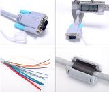 Cable del VGA del anillo del imán del azul de la alta calidad los 20m