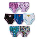 Calzoncillos cómodos Panty de las mujeres de la ropa interior de las muchachas de la liga de la justicia