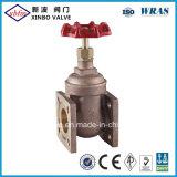 청동색 플랜지 게이트 밸브 (물자 B62-C83600)