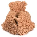 Мягкие меховые тапочки таможни медведя