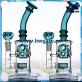 Cachimba de cristal grande de Shisha de los distribuidores estándar de la categoría alimenticia Bw1-112