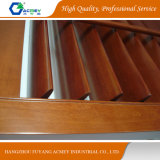Janela de sólidos de madeira/Porta cor marrom do Obturador para Villa House