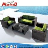 De Rattan sintético resistente al aire libre muebles de mimbre sofá yate adecuado para los proyectos de Ocio