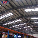 Nuevo diseño de almacenes prefabricados de estructura de acero para la fábrica.
