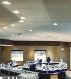Downlight encastré avec LED Osram puces pour boutique/gallery/magasin de luxe (BLE-DW-D12)