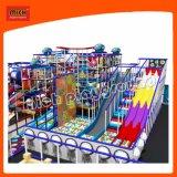 Детский парк развлечений для использования внутри помещений детская площадка с крутыми слайдов