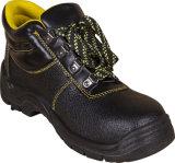 De hete Verkopende Goedkope Schoenen van de Veiligheid van het Leer voor de Schoenen van de Veiligheid van de Mensen van Arbeiders