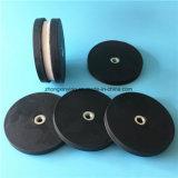 Магнит чашки неодимия резиновый Coated для камеры отладки с отверстием винта