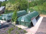 Instalación para tratamiento de efluentes para la ciudad