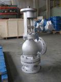 Padrão de Ângulo Wcb Válvula de Isolamento do tipo globo DN200/Pn16
