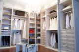 Garde-robe en bois personnalisée de chambre à coucher de porte coulissante