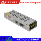 fonte de alimentação HTC do interruptor do transformador AC/DC do diodo emissor de luz de 24V 15A 350W