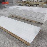 Искусственного камня чистой Белой акриловой поверхности неподвижной плиты 20мм