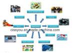 Pp.-Belüftung-Haustier-China-Plastikrohr-Flaschen-Schleifer-Zerkleinerungsmaschine