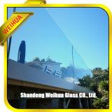 8mm 10mmのオフィスビルが付いている12mm強くされた手すりの柵ガラス