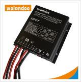 10А 12V/24V MPPT солнечного контроллера заряда контроллера панели