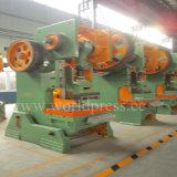 J23 máquina de perfuração da imprensa de potência da série 100t com movimentação mecânica