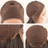 Чернота способа Dlme заплетает парик волос средней части синтетический