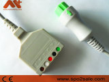 Mindray T5 T8 0010-30-12260 5 derivaciones del ECG Cable troncal