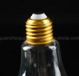 Lâmpada de plástico transparente OEM sumo de bebidas garrafas de água