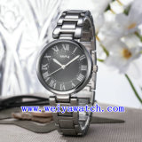 주문 로고 시계 우연한 합금 손목 시계 (WY-025E)