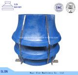 Après cône de Sandvik CS660 du marché le broyeur partie la doublure de cuvette, enveloppent et concave