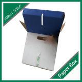 Cadre de papier de empaquetage personnalisé par eau embouteillée de logo