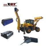 Caricatore poco costoso dell'escavatore a cucchiaia rovescia di prezzi Obt20-25e con i collegamenti
