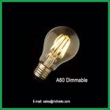 Lámparas LED 10W/A60/bombilla Edison regulable/Ce/RoHS/Iluminación/Lamp