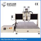 Doppia tagliatrice di CNC della macchina di CNC dell'asse di rotazione
