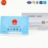 PVC磁気帯ICが付いているプラスチック接触チップスマートカード