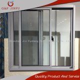 Alluminio commerciale rivestito della polvere che fa scorrere doppia finestra lustrata
