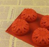 Moulage de savon de silicones de tournesol de catégorie comestible