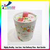 Papel artístico da China do cilindro de impressão personalizado Caixa de Embalagem de Papelão
