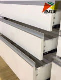 Jialimeiは陽極酸化されたオフィス用家具のアルミニウムプロフィール食器棚のための突き出た
