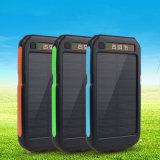 Di energia solare la forte LED Banca chiara di potere del rifornimento di potenza della batteria 6000mAh della Banca
