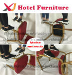 Durable de aluminio de apilamiento sillas para banquetes de bodas/Hotel/Restaurante