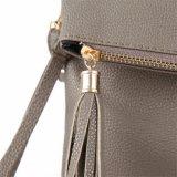 女性ふさデザイン女性PU革Crossbodyのメッセンジャー袋(WDL0910)
