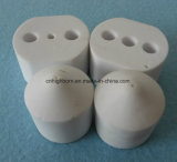 Isolante di ceramica delle parti dell'allumina personalizzato alta precisione