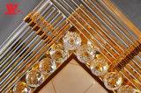 水晶装飾が付いている天井ランプ