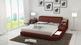 Modernes Pavan-Leder-Bett modernes Stronge Bett