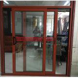 La fabricación de Shenzhen Best-Quality armazón de aluminio puerta corrediza de vidrio