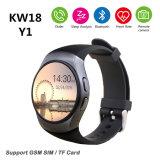 Вахта спорта вахты Y1 Bluetooth франтовской и телефон GSM wristwatch