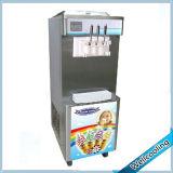 El soporte de suelo Fabricante de yogur helado con 3 sabores